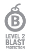 Our AAMA windows blast testing ensures Certified Level 2 protection.